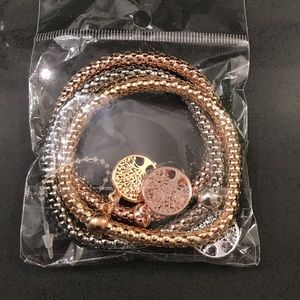 Metal bracelet bundle